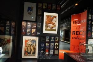 Musée National du Sport (display)