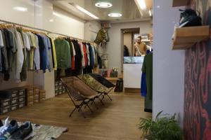 Antic Boutik boutique urban wear à Nice interieur