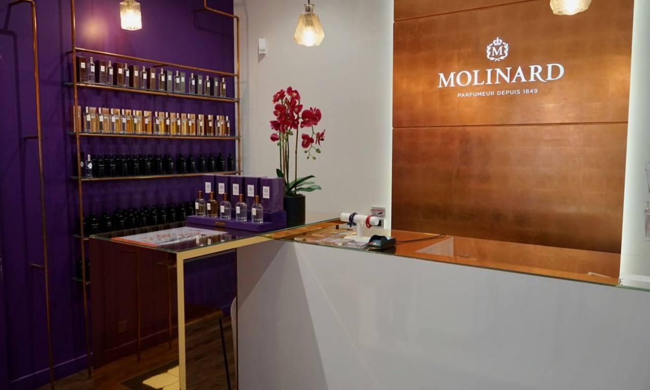 Molinard créateur parfumeur à Nice accueil