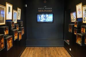 Molinard créateur parfumeur à Nice le petit musée