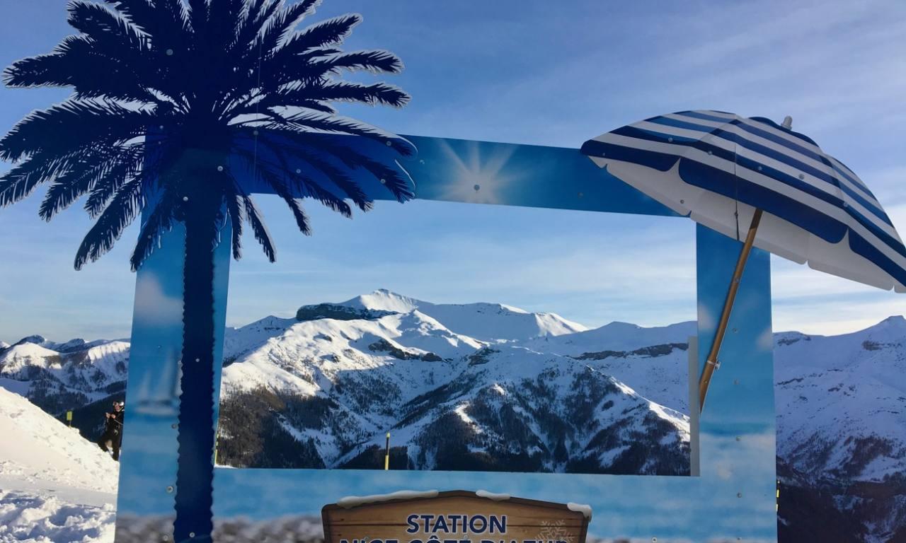 Station Côte d'azur Auron Panorama