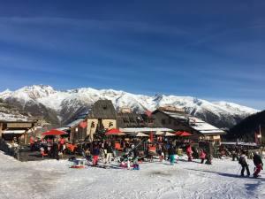 Station Côte d'azur Auron restaurant altitude