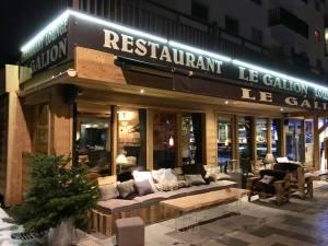 Station Côte d'azur Auron restaurant le galion