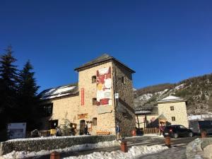 Station Côte d'azur Auron vieux village