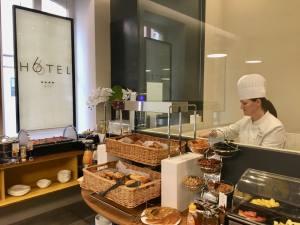 Hotel 66 4 **** à Nice cuisine