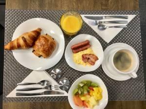 Hotel 66 4 **** à Nice petit déjeuner