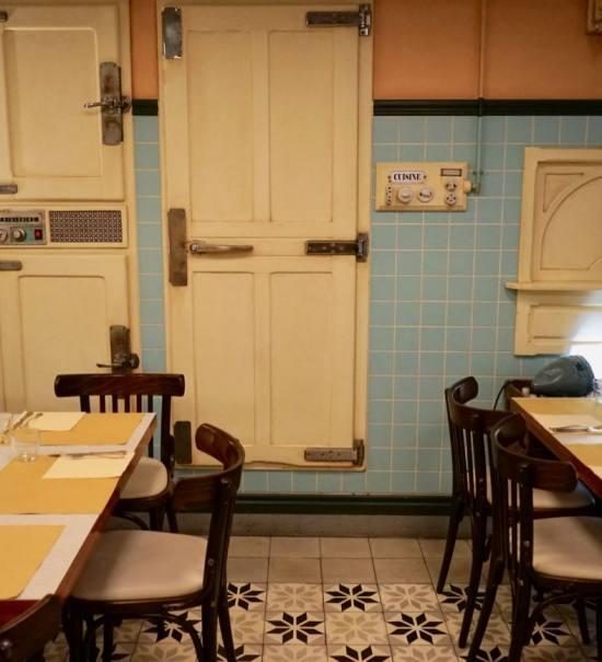 Le Comptoir du marché restaurant dans le Vieux Nice salle