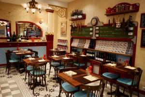 Le Comptoir du marché restaurant dans le Vieux Nice cuisine salle