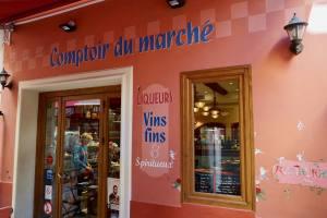 Le Comptoir du marché restaurant dans le Vieux Nice cuisine devanture