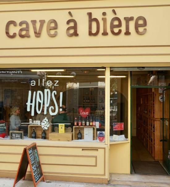 Allez Hop ! cave à bière à Nice devantures