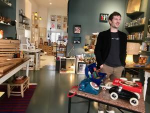 Borgoltz Berthelemy boutique d'objets déco à Nice boutique