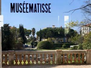 Musée Matisse art moderne à Nice exterieur