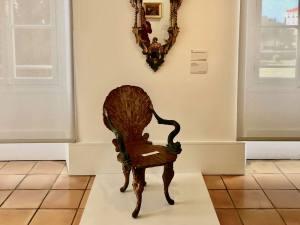 Musée Matisse art moderne à Nice chaise