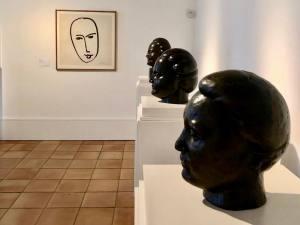 Musée Matisse art moderne à Nice sculpture
