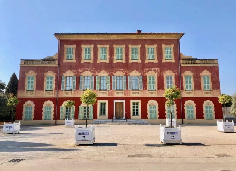 Musée Matisse art moderne à Nice facade