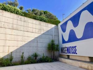 Musée Matisse art moderne à Nice mural