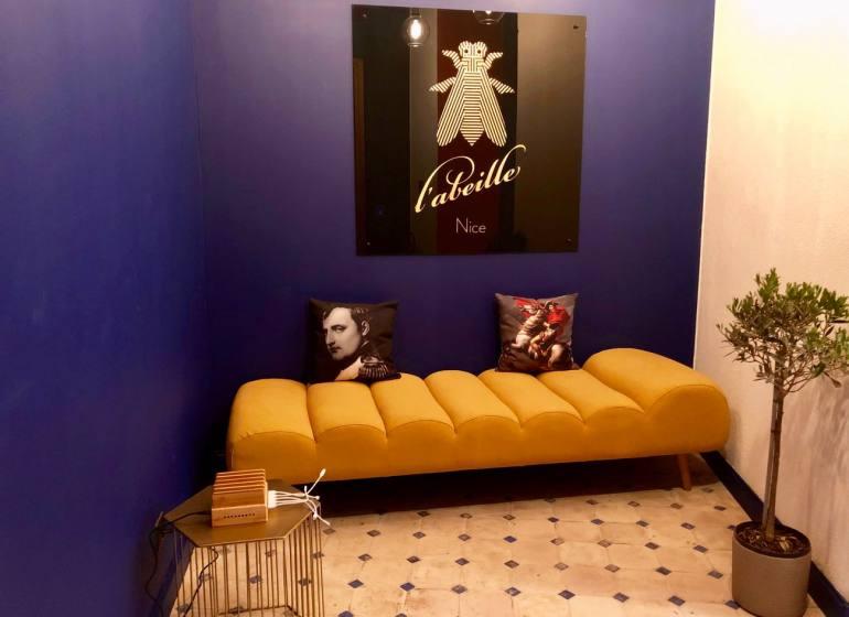 L'Abeille Boutique-appartements à Nice entree