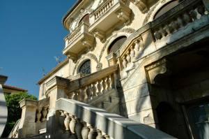 La Maison abandonnée (Villa Cameline) espace d'art contemporain à Nice extérieur