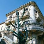 La Maison abandonnée (Villa Cameline) espace d'art contemporain à Nice facade