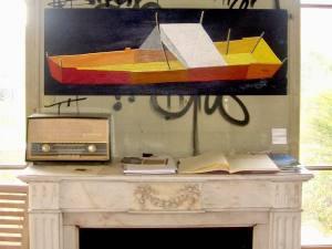 La Maison abandonnée (Villa Cameline) espace d'art contemporain à Nice peintures
