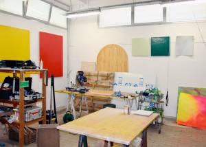 La Station espace d'art contemporain à Nice atelier