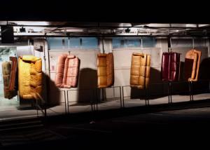 La Station espace d'art contemporain à Nice installation acanapé