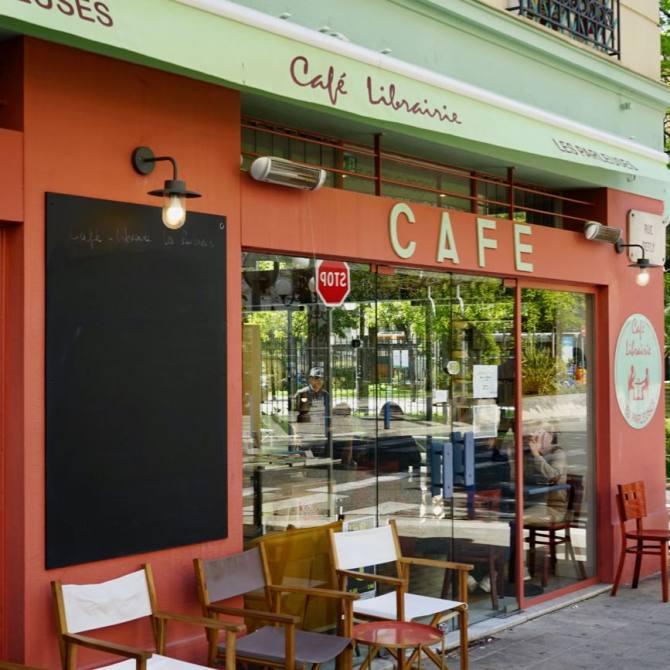Les Parleuses Café-librairie à Nice devanture