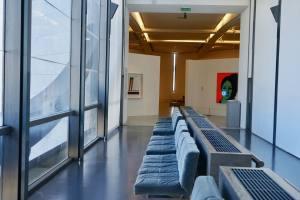 Musée d'art moderne et d'art contemporain de Nice couloir