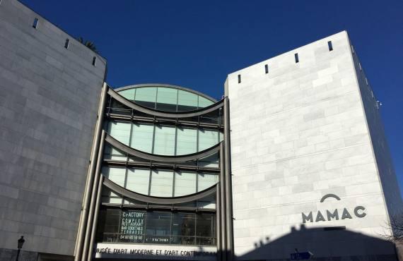 Musée d'art moderne et d'art contemporain de Nice extérieur