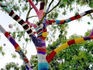NiceWool Atelier tricot Do it Yourself à Nice yarnbombing