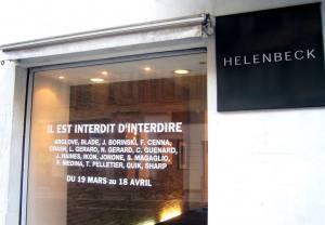 Galerie Helenbeck Art contemporain à Nice