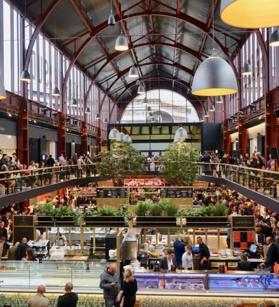 La Gare du sud, nouvelle halle gourmande à Nice