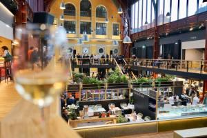 La Gare du sud, nouvelle halle gourmande à Nice interieur