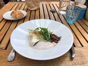 Le Plongeoir, restaurant de cuisine méditerranéenne sur le bord de mer à Nice