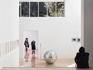 Villa Arson Ecole et centre d'art à Nice salle d'expo