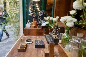 Les délices de Candice, jewellery creator Nice - the window