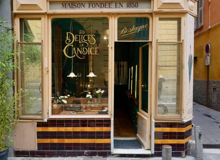 Les délices de Candice, créatrice bijoux vintage à Nice (facade)