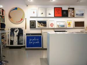 Galerie Eva Vautier, contemporary art gallery in Nice (showroom)