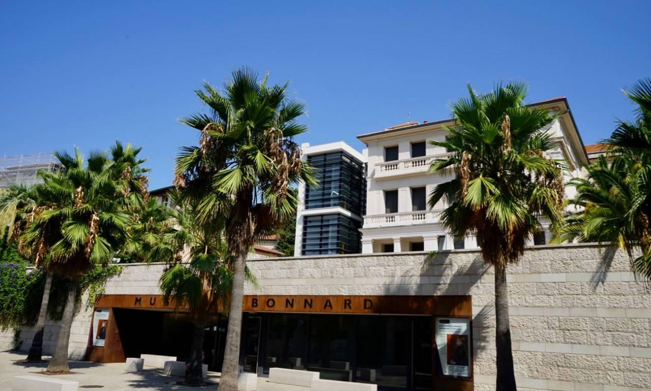 Musée Bonnard, art art des XIXᵉ et XXᵉ au Canet (facade)