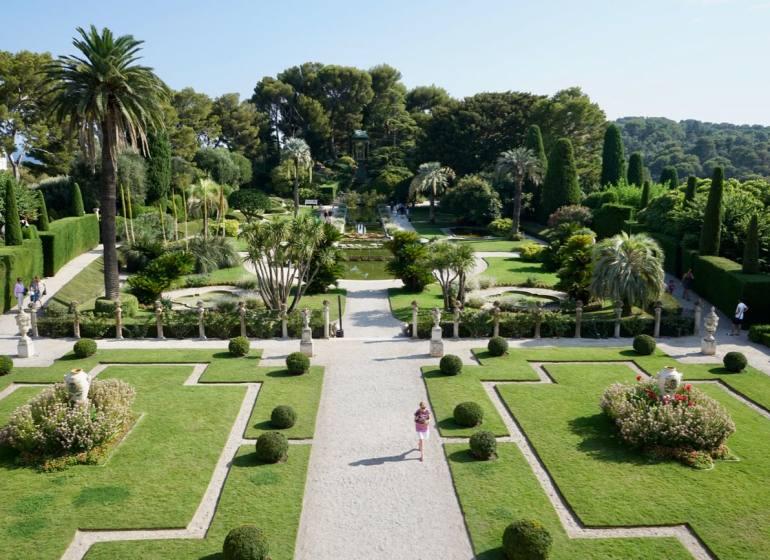 Villa et Jardins Ephrussi de Rothschild Saint-Jean Cap-Ferrat (jardins)