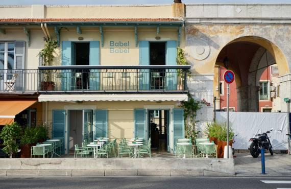 Babel Babel, cuisine méditerranéenne à Nice (devanture)