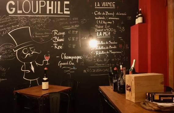Glouphile, cave à vins et bar à manger à Nice