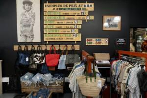 Kilo Shop, friperie dans la gare du Sud à Nice