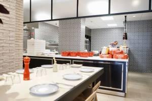 Miamici, Italian trattoria in Nice (open kitchen)