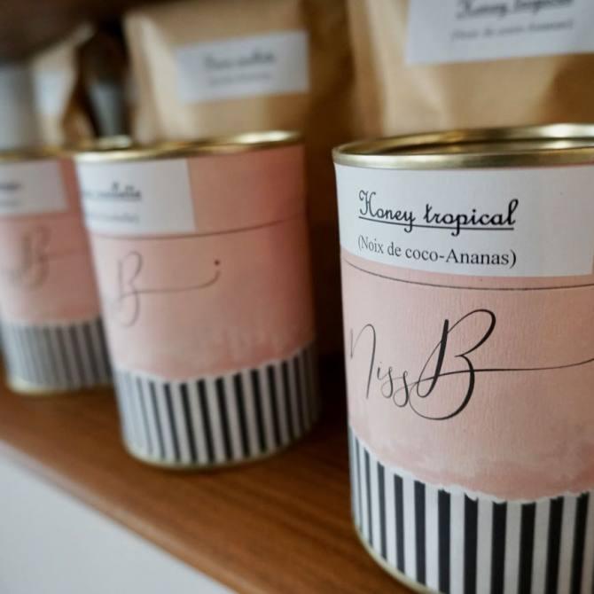 Miss B, salon de thé à Nice (thés)