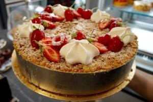 Néron , glaces artisanales à Nice (Gâteau)