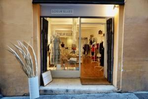 Sœur'elles, concept store créateur dans le Vieux-Nice (devanture)