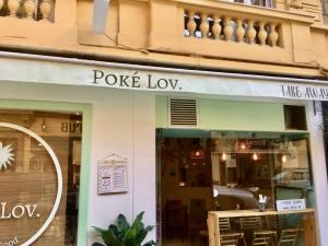 Poké Lov', Poké Bar hawaïen à Nice (devanture)