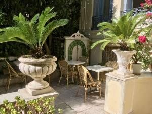 Villa Saint Hubert, hôtel in Nice (terrace)