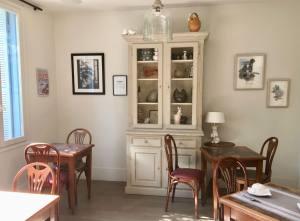 Villa Saint Hubert, petit hôtel de charme à Nice (salle à manger)